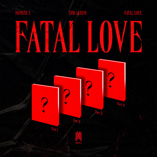 MONSTA X (몬스타엑스) 3RD FULL ALBUM - [FATAL LOVE]