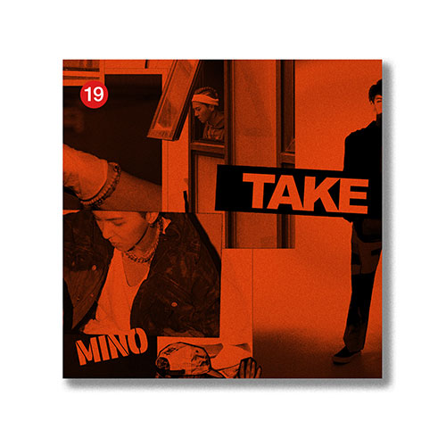MINO (송민호) 2ND FULL KIT ALBUM - [TAKE] LIM KIT VER