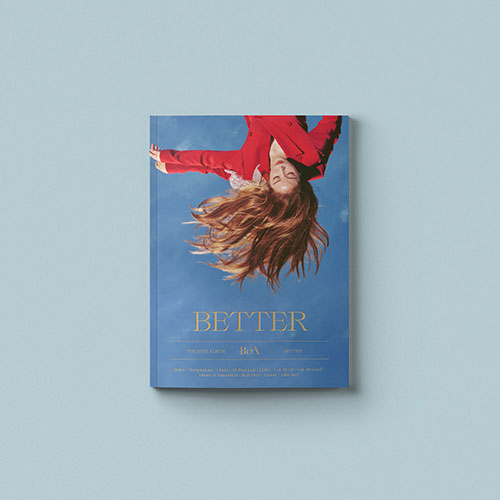 BoA (보아) 10TH FULL ALBUM - [BETTER] (STANDARD EDITION)