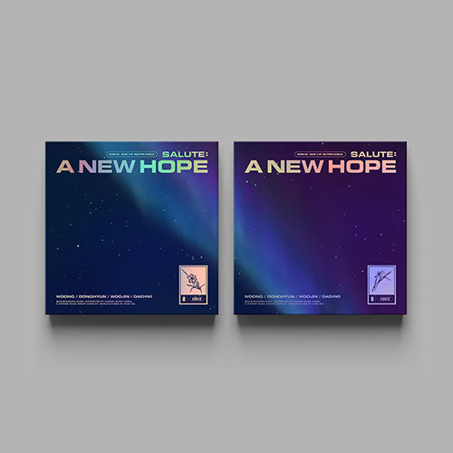 AB6IX (에이비식스) 3RD EP REPACK ALBUM - [SALUTE : A NEW HOPE]
