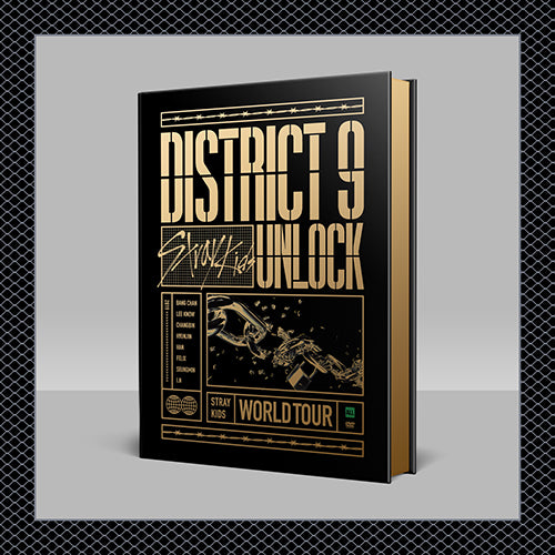 Stray Kids (스트레이 키즈) - World Tour 'District 9 : Unlock' in SEOUL (DVD)