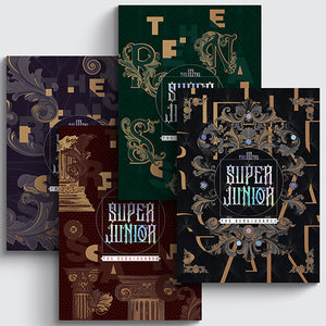 [PRE-ORDER] Super Junior (슈퍼주니어) 10TH ALBUM - [The Renaissance] (The Renaissance Style)