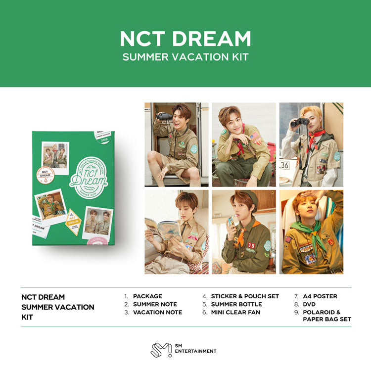 NCT DREAM (엔시티 드림) - 2019 NCT DREAM SUMMER VACATION KIT