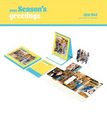 GIDLE (여자아이들) - 2021 SEASON'S GREETINGS