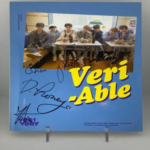 [AUTOGRAPHED CD] VERIVERY (베리베리) 2ND MINI ALBUM - [VERI-ABLE] (Official Ver.)
