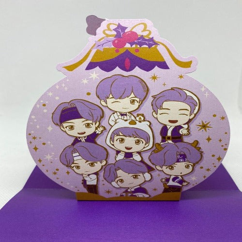 [BTS POP-UP SEOUL] BTS - 'TINYTAN' GROUP POP-UP CARD
