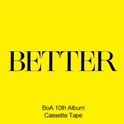 BoA (보아) 10TH FULL ALBUM - [BETTER] (CASSETTE TAPE)