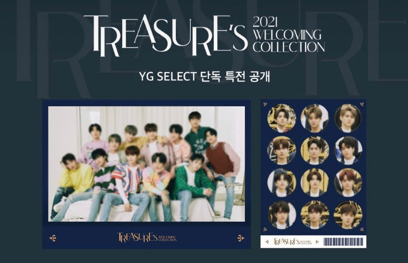 [PRE-ORDER] TREASURE (트래져) 2021 WELCOMING COLLECTION (+YG Select Gift.)