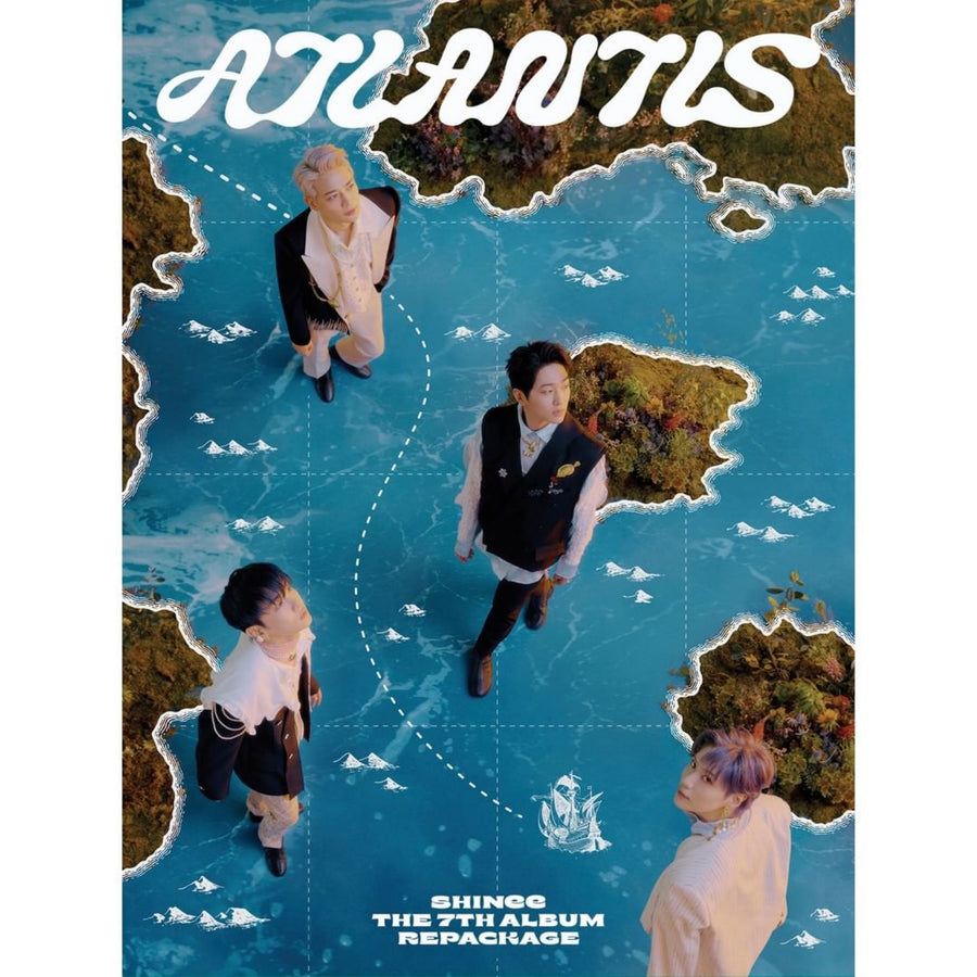 SHINee (샤이니) 7TH ALBUM REPACKAGE - [Atlantis]