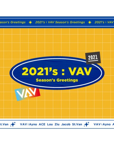 VAV - 2021 SEASON'S GREETINGS