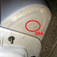 Bottom Of Tank Model Number Location