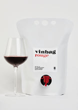 Load image into Gallery viewer, vinbag 'rouge'