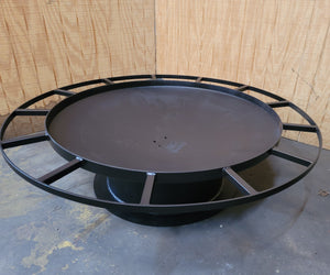 Single Rail Firepit