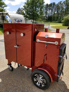 The Compound Smoker Grill combo