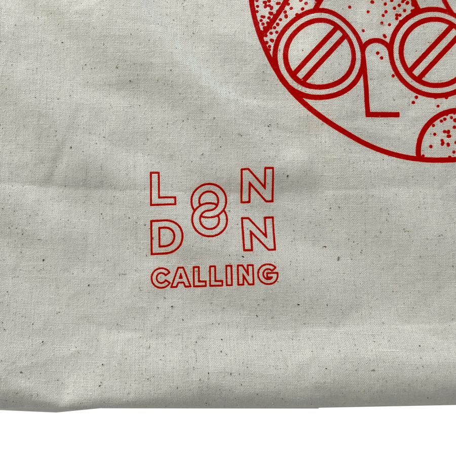 London Calling • Totebag head