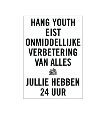 Hang Youth poster