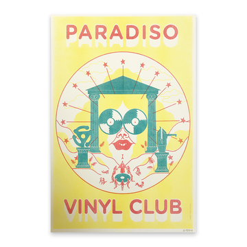 Poster Vinyl Club • Topsy Turvy Magic