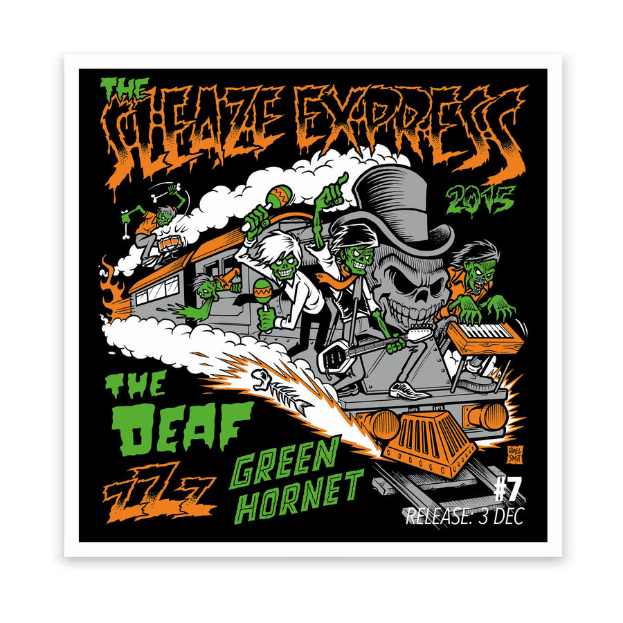 The Sleaze Express - The Deaf, Green Hornet & zZz