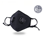 Stylish Brethado Duo Face Mask - Non-medical, Hand Made, Re-usable, Washable, Nose Wire, Adjustable, Insert Pocket