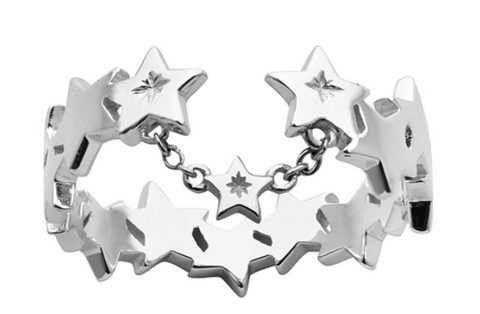 Karen Walker Supernova Ring, Silver