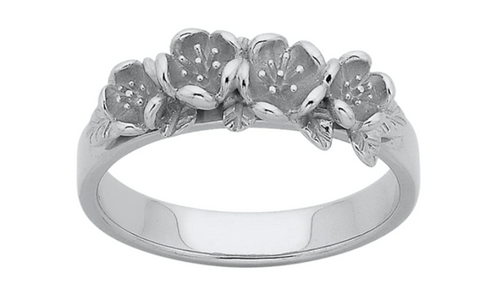 Karen Walker Wreath Ring, Silver