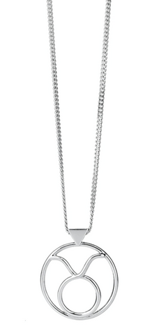 Karen Walker Taurus Necklace, Silver