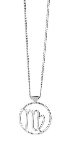 Karen Walker Virgo Necklace, Silver