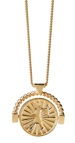 Karen Walker Voyager Spin Necklace, 9ct Gold
