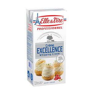 Excellence Whipping Cream 35% Fat 1ltr