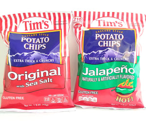 Tim's Cascade Potato Chips (2) - Algona, WA (Click for more flavors)
