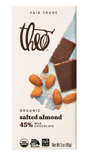Theo Organic Chocolate Bar - Seattle, WA (Click for more flavors)