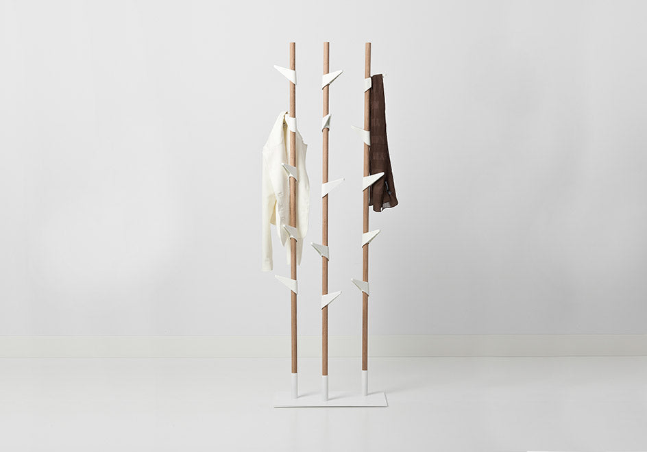 Bamboo Coatrack