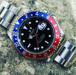 Rolex Gmt-Master 2 16710 Rectangular dial