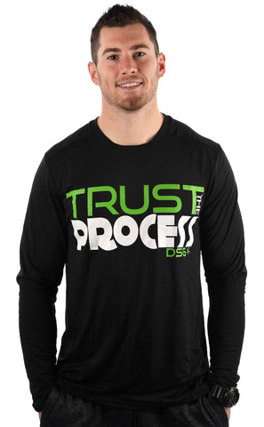 'TRUST' Performance Dri-Fit Long Sleeve - DSG Apparel  - Gym Apparel DSG Apparel  - Grind and Pray