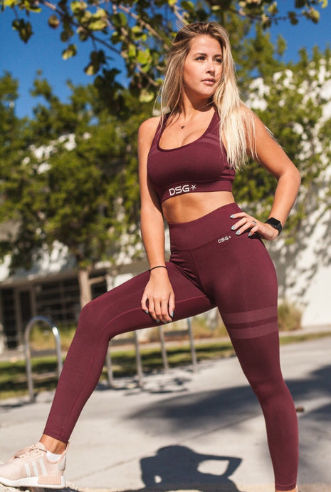 High Waisted Leggings - DSG Apparel  - Gym Apparel DSG Apparel  - Grind and Pray