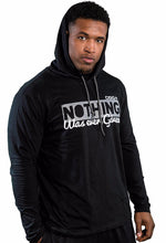 'Not Given' Brushed Cotton Hooded T-Shirt - DSG Apparel 'Nothing' Hoodie - Gym Apparel DSG Apparel  - Grind and Pray