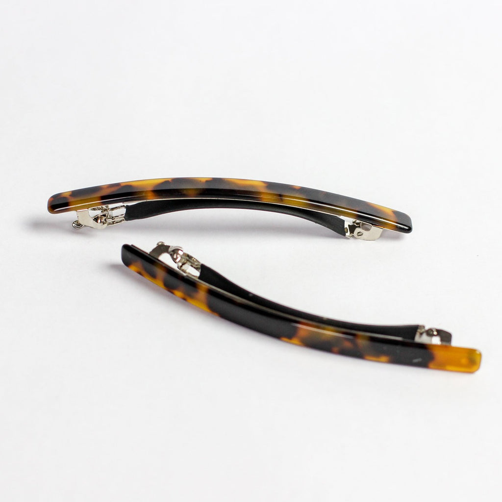 Dark Tortoise Long Clip Set