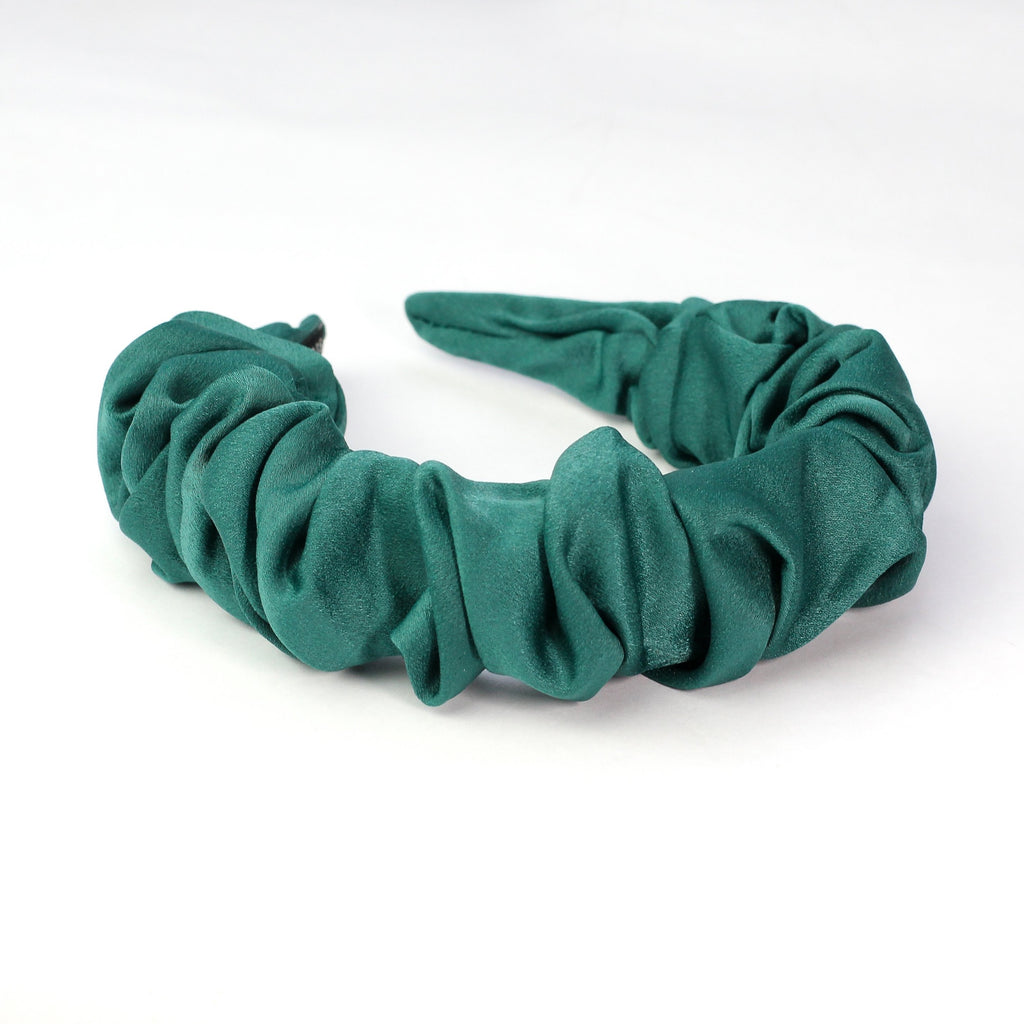 Emerald Ruffled Headband