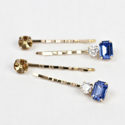 Royal Blue Gemstone Pins