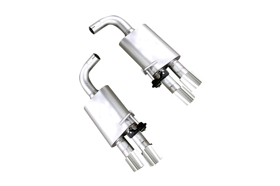 Ford Mustang GT ('18-'20) True Dual S550 Axle Back Exhaust System