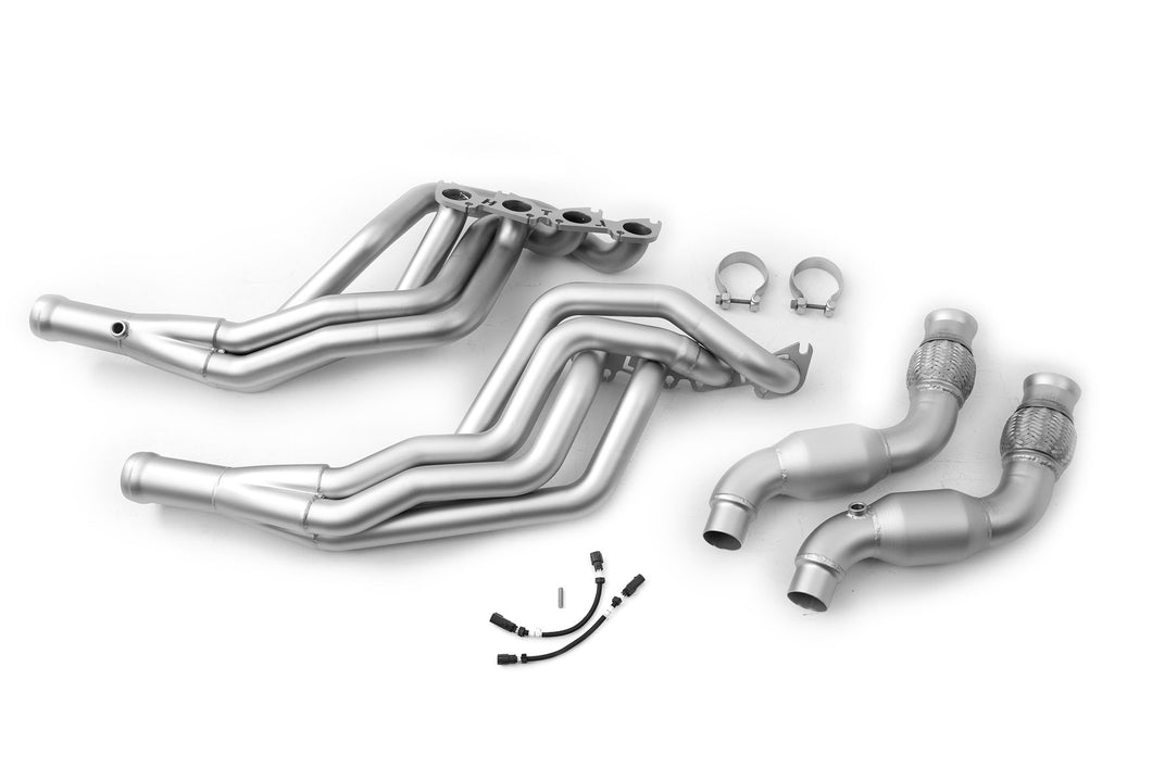 Ford Mustang ('15-'20) Long Tube Headers High Flow Catalytic Converter – S550 Headers