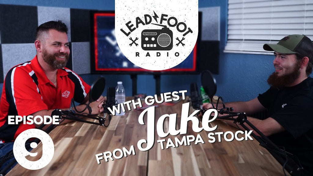 Lead Foot Radio Podcast 009   Tampa Stock