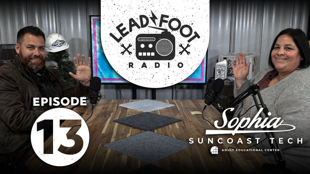Lead Foot Radio Podcast 013   Sophia from SunTech