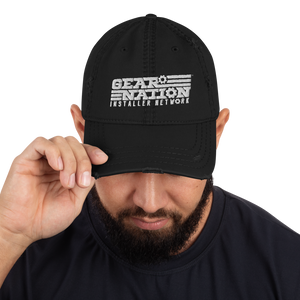 Gear Nation Distressed Hat