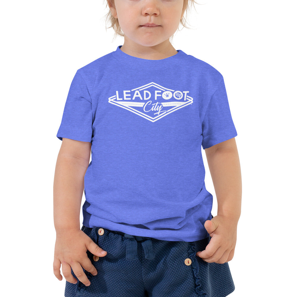 Lil' Lead Foot Toddler Short Sleeve Tee