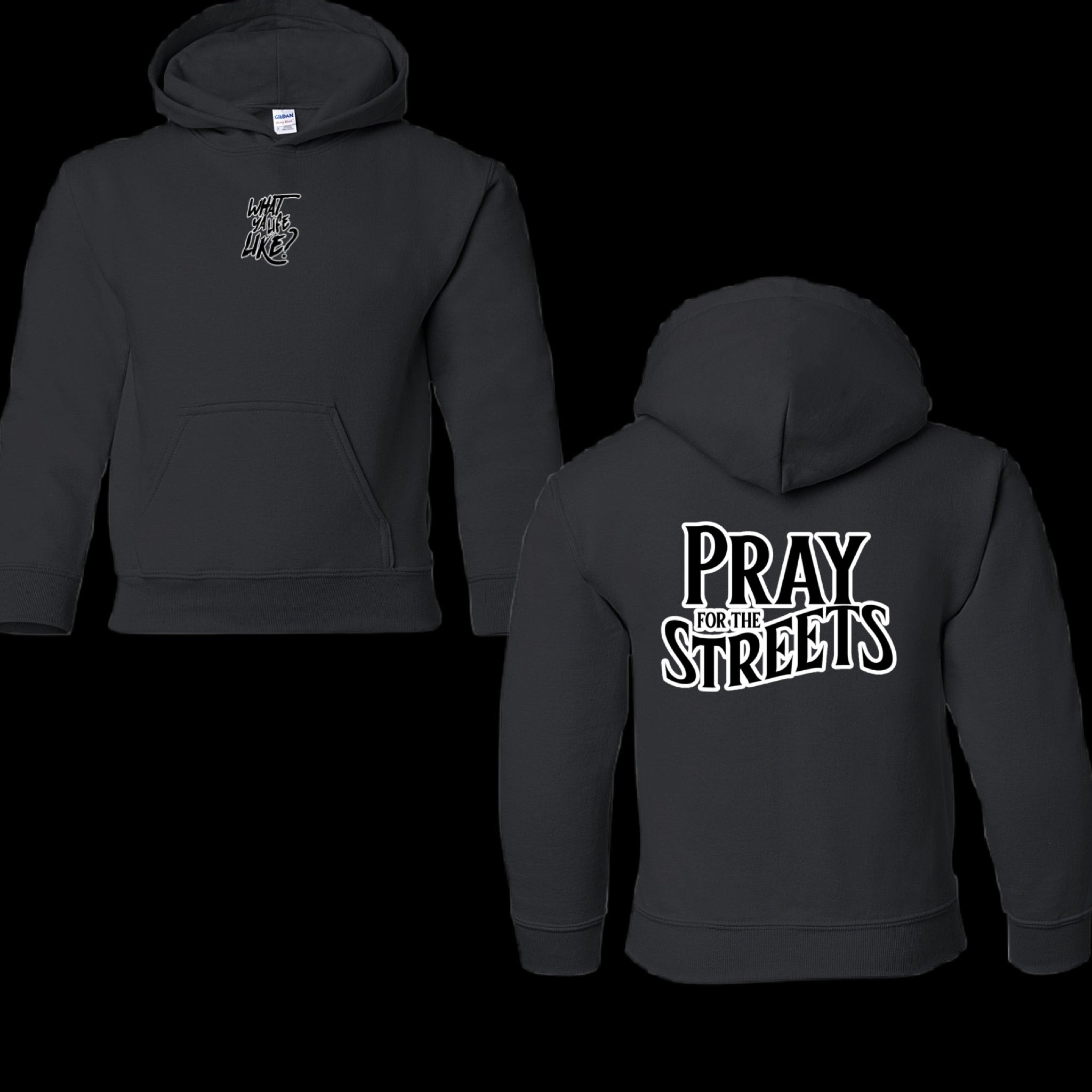 YOUTH PRAY FOR THE STREETS HOODIE