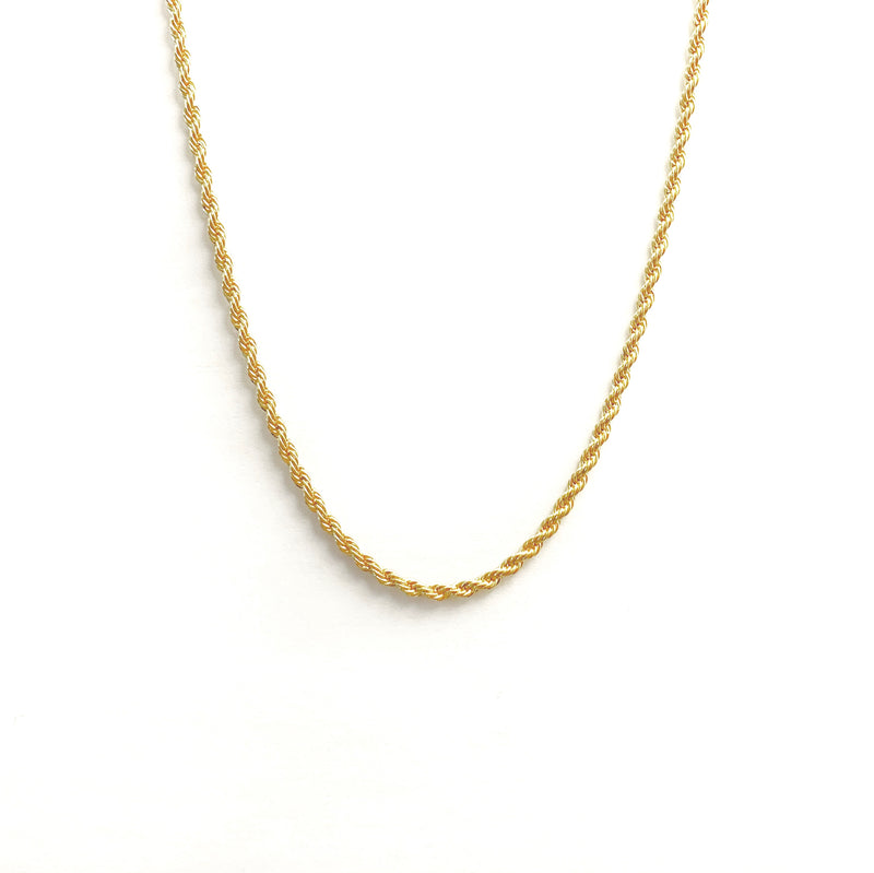 Braided Twine Chain Necklace