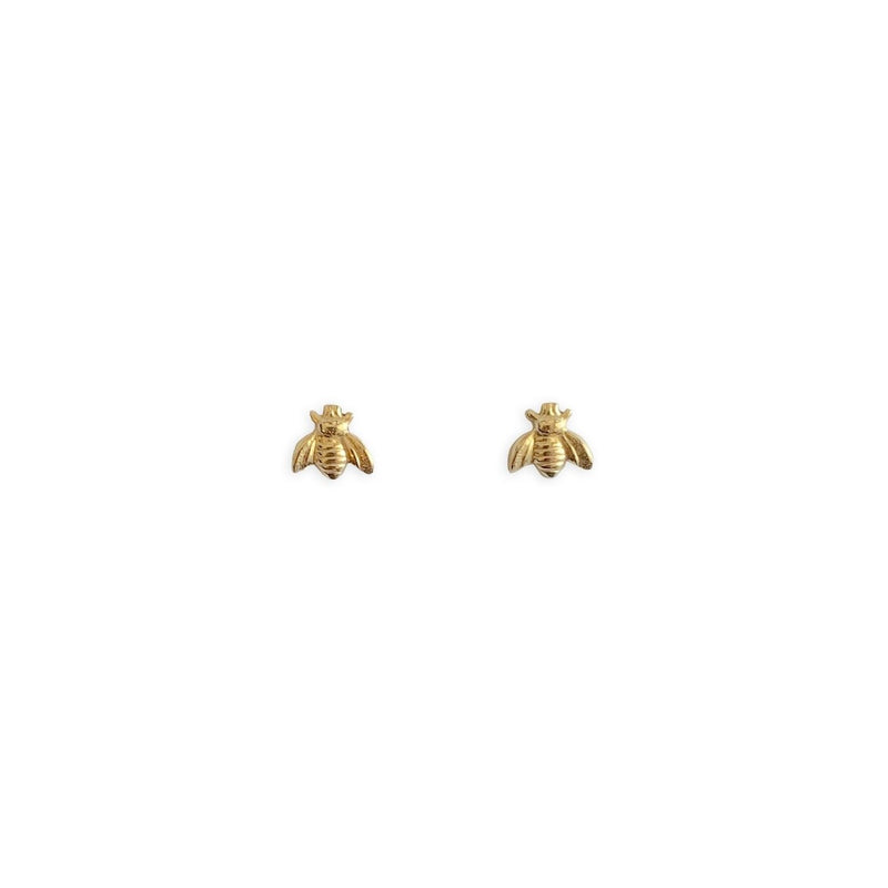 14K Gold Filled Bee Studs