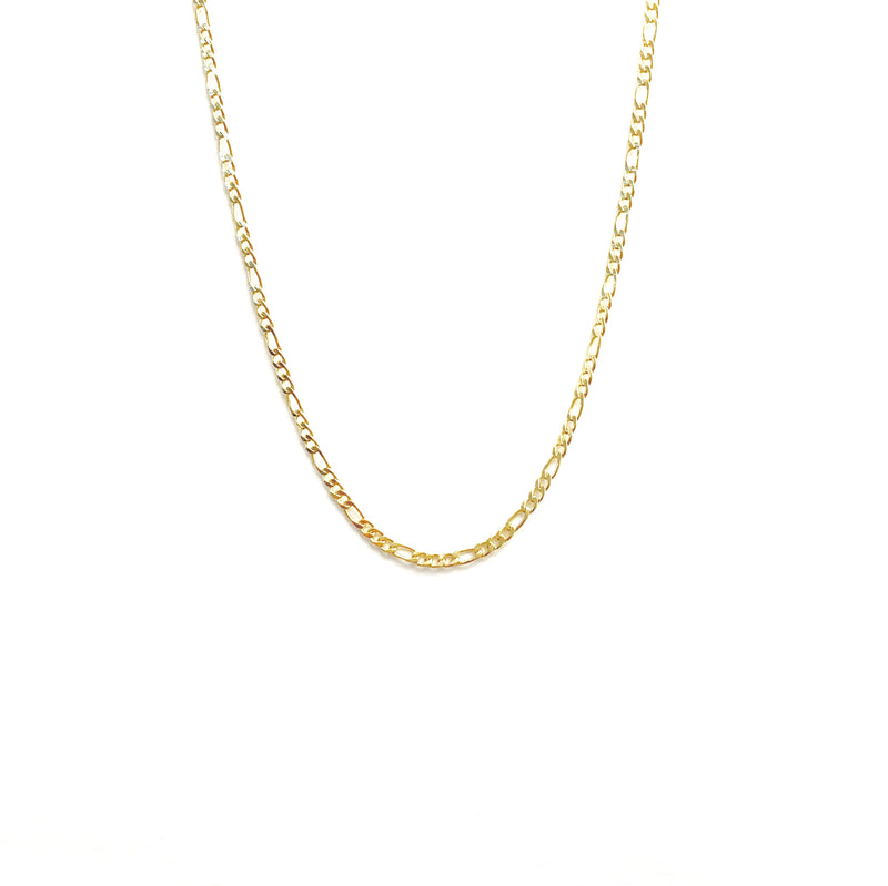 18K Gold Filled Figaro Chain Necklace