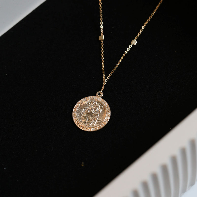 14K Gold Filled San Cris Necklace